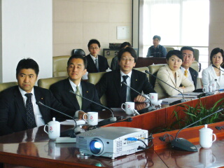 北京副市長劉敬民と会談
